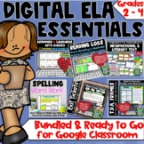 Digital ELA Essentials Bundle for Grades 2 - 4 | Distance