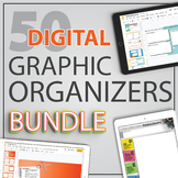 Digital ELA GRAPHIC ORGANIZERS for Google Slides™   Distance Learning