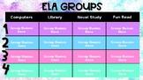 Digital ELA Group Chart