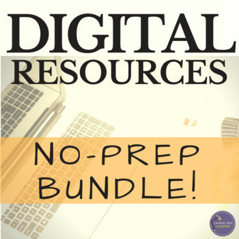 Back to School Writing and Language Arts Digital Bundle for Secondary English