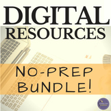 Digital Activities Bundle for Middle and High School Engli