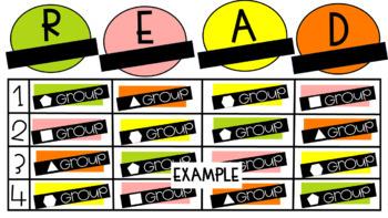 Digital ELA Rotation Slides (Citrus Colors)