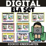 Digital ELA Set for Google Slides and Distance Learning fo