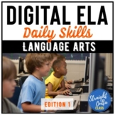 Digital ELA Skills   Google Classroom   Distance Learning