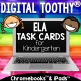 Digital ELA Toothy® Task Cards Bundle | Kindergarten | Dis
