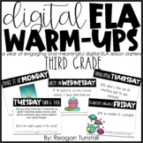 Digital ELA Warm-Ups Third Grade