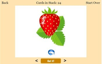 ESL Fruits Interactive Flashcards and Quizzes