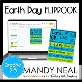 Digital Earth Day Activity - Flip Book