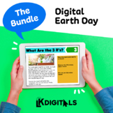 Digital Earth Day | Distance Learning - Google Slides™ & Seesaw™