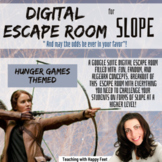 Digital-Editable ESCAPE Room: Hunger Games and Slope