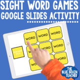 Digital Editable Sight Word Games for the Year - Growing Bundle