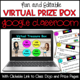 Digital Editable Virtual Prize Box for Online Learning