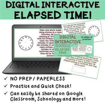 Digital Elapsed Time Practice