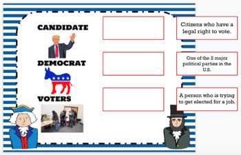 Digital Election Vocabulary Activity