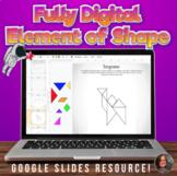 Digital Element of Shape Worksheets - Digital Visual Art D