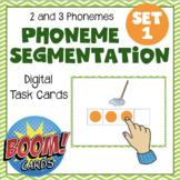 Digital Elkonin Boxes Set 1 - Distance Learning - Boom Cards