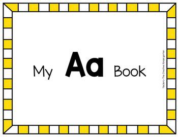 Digital Emergent Readers {FUN Alphabet Books-Aa}