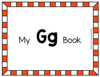Digital Emergent Readers {FUN Alphabet Books-Gg}