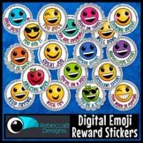 Digital Emoji Reward Stickers - Classroom or Personal Use Only