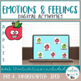 Digital Emotions and Feelings Activities- Apples