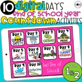Digital End of Year Countdown Activities: Last 10 Days of School