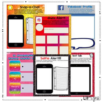 Digital & Printable End of Year Activities