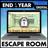 Digital End of Year Escape Room - Distance Learning