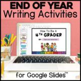 Digital End of Year Flipbook for Google Slides - Distance