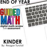 Digital End of Year Math Review Kindergarten