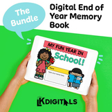 Digital End of Year Memory Book | Distance Learning