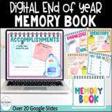 Digital End of Year Memory Book