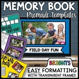 Digital Memory Book End of Year Slideshow   Distance Learning Google PowerPoint