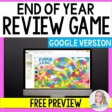 Digital End of Year Review Game - Free Sample for Distance