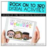 Digital End of the Year Activities: Rock on to 3rd