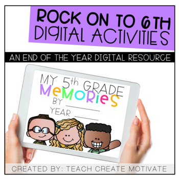 Digital End of the Year Activities: Rock on to 6th