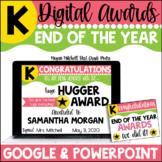 Digital End of the Year Awards | Distance Learning | Google | Kindergarten