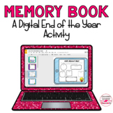 Digital End of the Year Memory Book Distance Learning