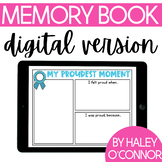Digital End of the Year Memory Book {Ideal for Distance Learning}