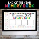 Digital Memory Book for Google Classroom™ Google Slides™ -