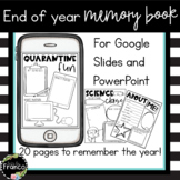 Digital End of the Year Memory Book for Upper Elementary