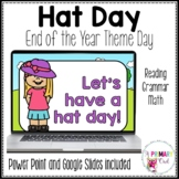 Digital End of the Year Theme Day Hat Day