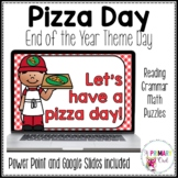 Digital End of the Year Theme Day Pizza Day
