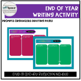 Digital End of the Year Writing Activity