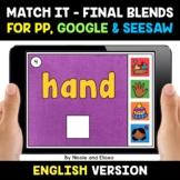 Digital Ending Blends Word Work for Google and Seesaw 2 -