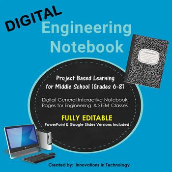 Digital Engineering Notebook - Fully Editable in PowerPoin