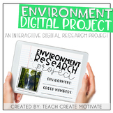 Digital Environment Research Project | for Google Slides™