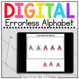 Digital Errorless Alphabet Letters Learning Activity   Dis