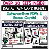 Digital Task Cards and Boom Cards  Mega BUNDLE