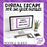 Digital Escape (Drawing Conclusions) Google Slides Bundle
