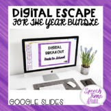 Digital Escape (Drawing Conclusions) Google Slides Bundle